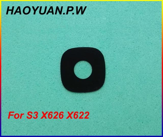 2 cái/lốc HAOYUAN. p.W Mới Nhà Ở Phía Sau Trở Lại Máy Ảnh Glass Lens Với Chất Kết Dính Cho Letv leEco S3 x622 X626 Tàu Nhanh