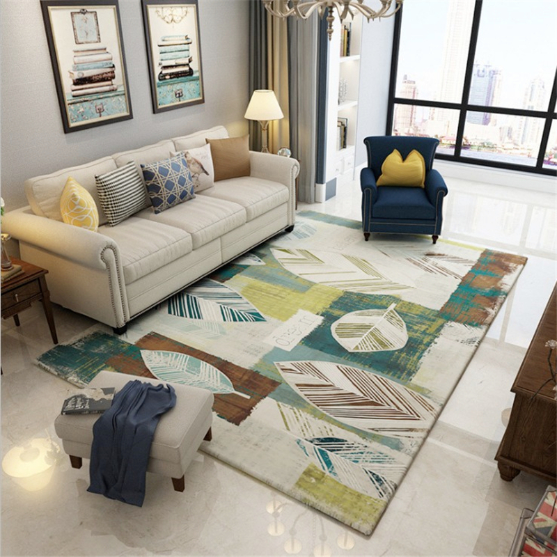 2018 New Fashion American Village Carpet Pastoral Retro Nordic Large Delicate For Living Room Bedroom Kinds Of Patterns Rug Mat