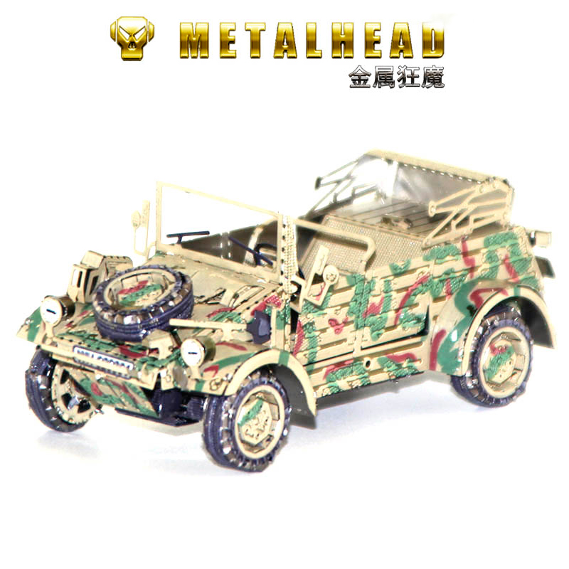 3D DIY Metal Puzzle Model Bucket Truck Cutting Jigsaw Best Gifts For Lover Friends Children Collection Educational Toys