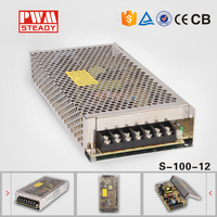 DC Stabilized Power Supply Manufacturer Constant Voltage Small Switching Power Supply 220v 12v Single Output 100w