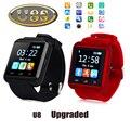 Original U8S Deportes Al Aire Libre Inteligente Bluetooth 3.0 Reloj Con Cámara Remota Podómetro Recordatorio Sedentario Smartwatch Para Android