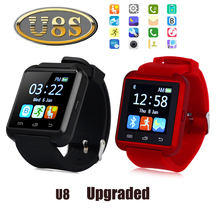 Original U8S Outdoor Sports Smart Bluetooth 3.0 Watch With Remote Camera Pedometer Sedentary Reminder Smartwatch For Android