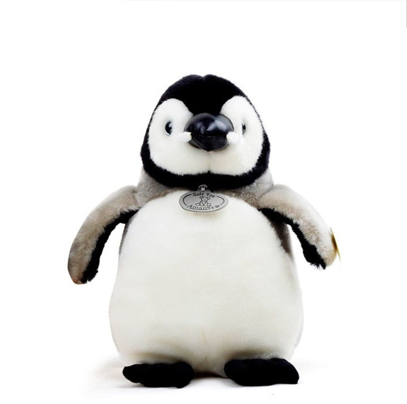 Plush Penguin Dolls Soft and Stuffed Animal Toys Christmas Gift for Kids Toy 2017 hot sale plush soft toys doll stuffed animal toy plush green frog dolls with sucker for baby kids pillow christmas gift