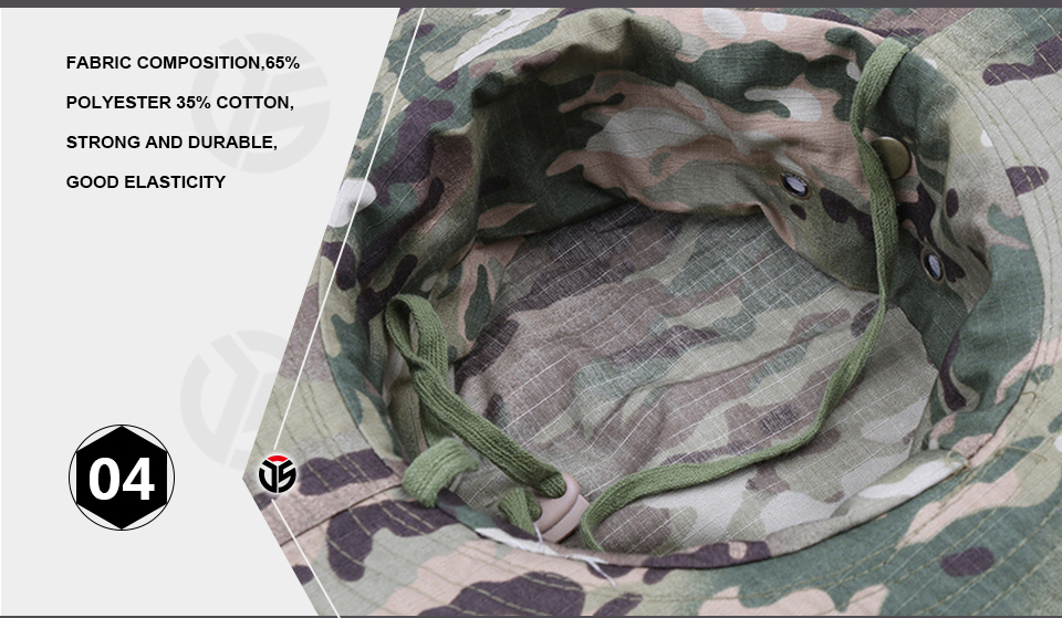 HTB1w5FGXe3tHKVjSZSgq6x4QFXag - Multicam Tactical Airsoft Sniper Camouflage Bucket Boonie Hats Nepalese Cap SWAT Army Panama Military Accessories Summer Men