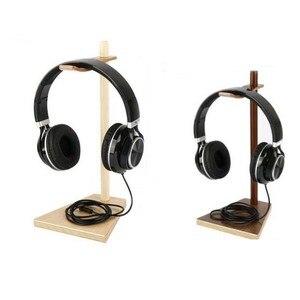 Image 5 - JINSERTA przenośne słuchawki stojak drewniany praktyczny uchwyt słuchawkowy zestaw słuchawkowy pokaż półka aluminiowy kątownik urządzenie pomocnicze