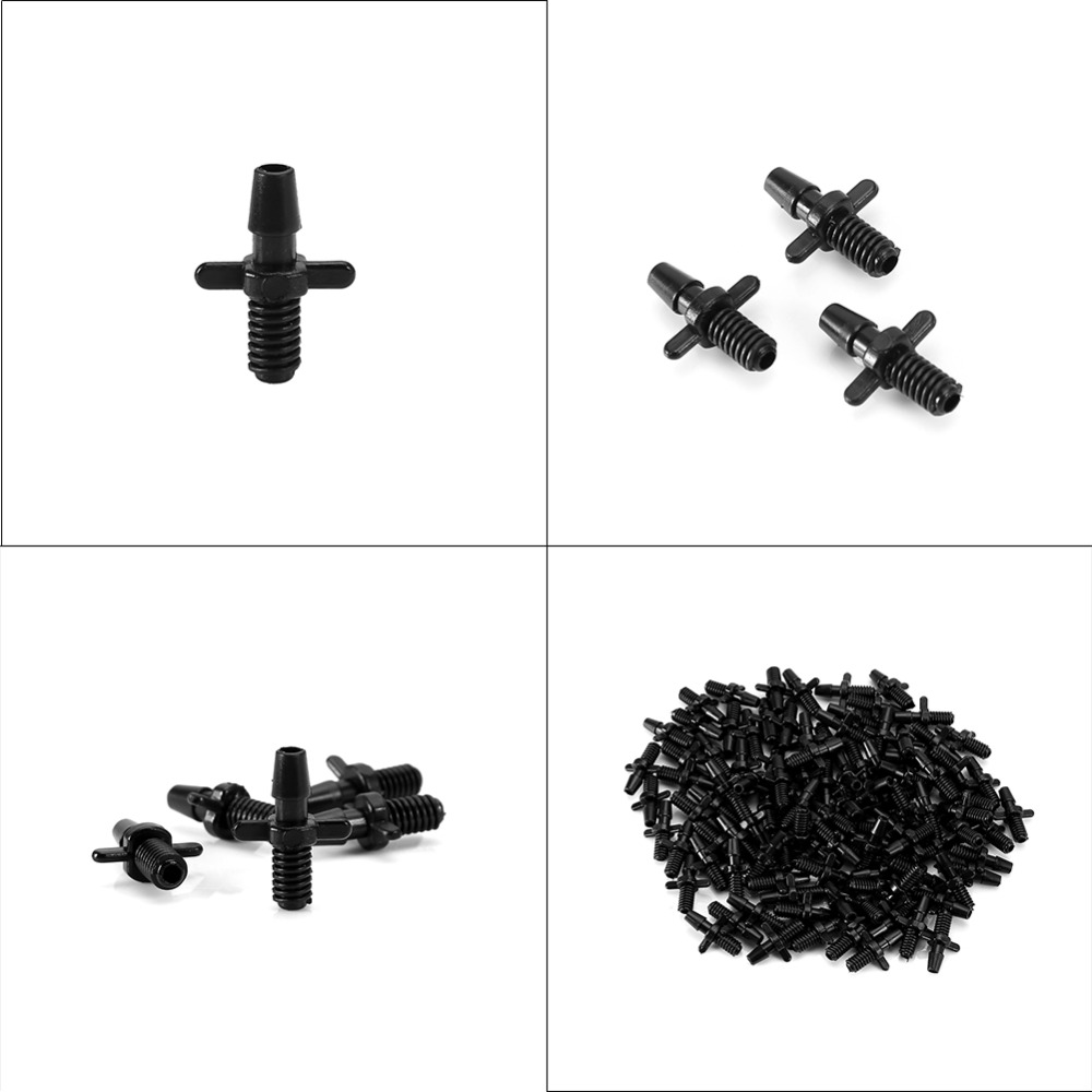 3/5 Barbed Connector Double Ways 5mm Screw Thread Micro ...