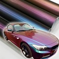 152*30CM 3D Carbon Fiber Vinyl Car Wrapping Foil Car Sticker Decoration chameleon stickers For Car Styling free shipping