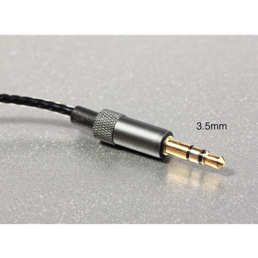 HIFI Earphone Cable for DIY Replacement 1.2m Audio Cable Headphone ...