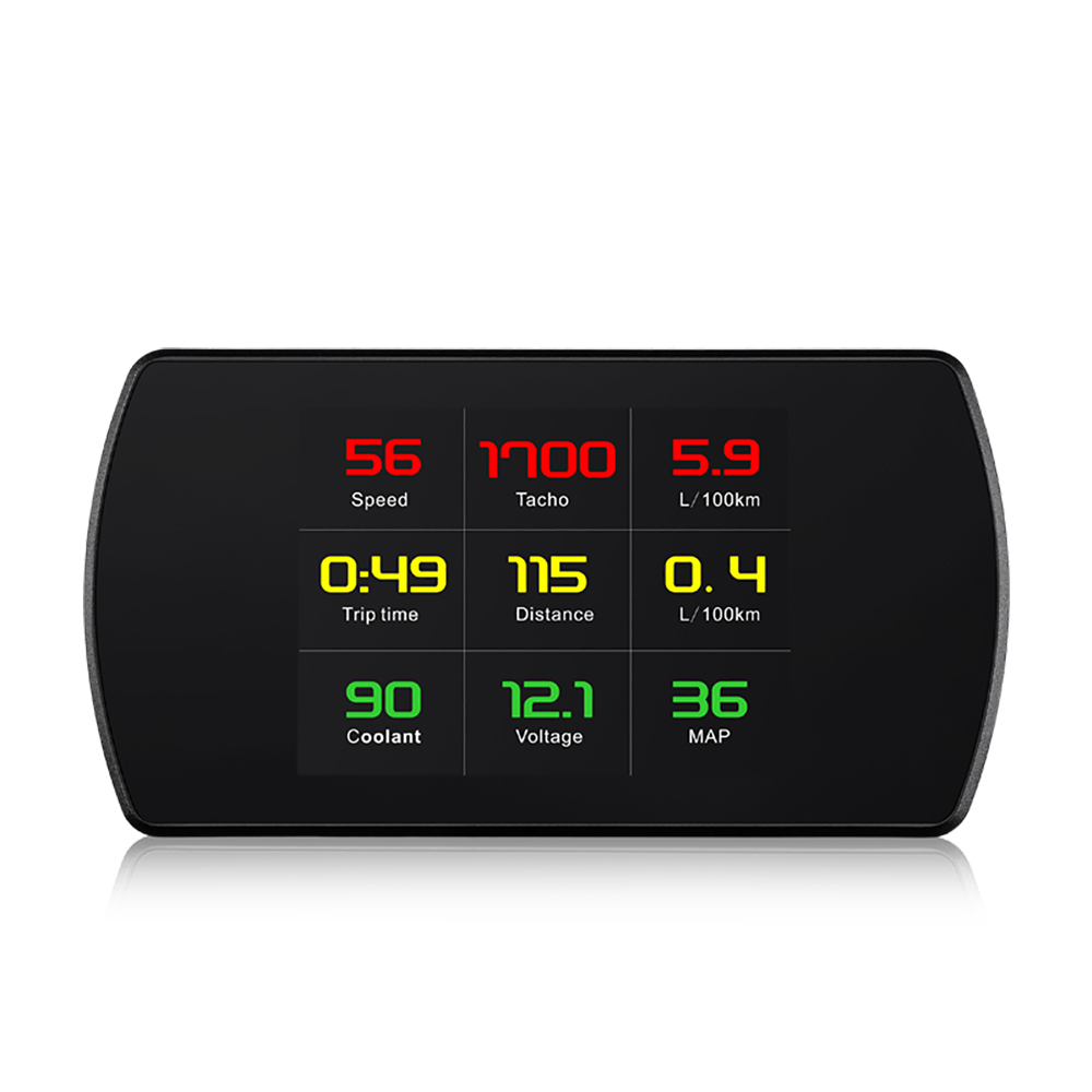 XYCING OBD2 Car HUD Head Up Display Smart Digital Meter HD Digital Display Speedometer Fuel Consumption Temperature RPM Tacho emporio armani luigi ar1979