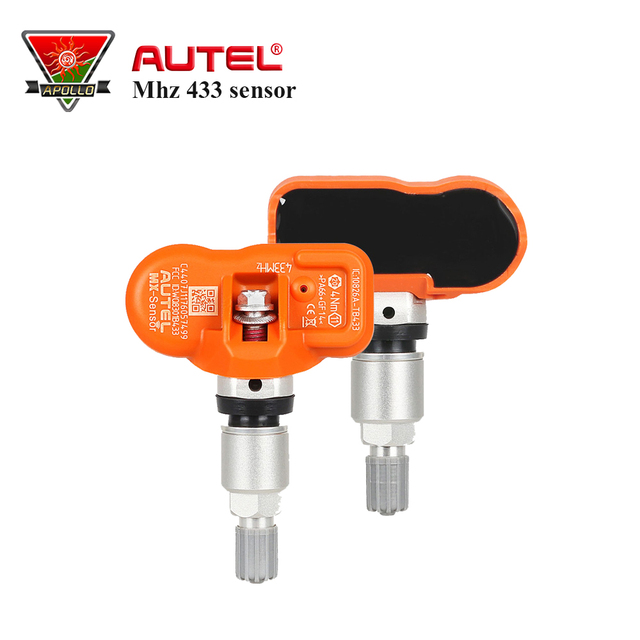 New Arrival AUTEL MX-Sensor 433MHz Programmable Universal Sensors Work With MaxiTMPS TS401 TS501 TS601 Free Shipping