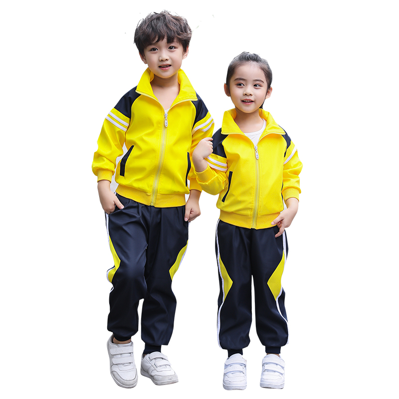 2018 Fashion Boys Girls Clothing Sets Autumn Winter Kids Boys Sports Suit School Uniform Children Zipper Jacket Pants Suit Sets autumn winter boys girls clothes sets sports suits children warm clothing kids cartoon jacket pants long sleeved christmas suit