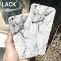 De mármol de moda cajas del teléfono para iphone 6 caso para apple iphone 6 S 6 Más 6 Coque Cubierta SPlus Smooth Contraportada Capa Fundas Coque