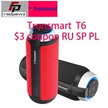 Tronsmart Element T6, Bluetooth 4,1, Портативная колонка, беспроводной саундбар, аудио приемник, мини-динамик, s, USB, AUX, для музыки, mp3-плеер