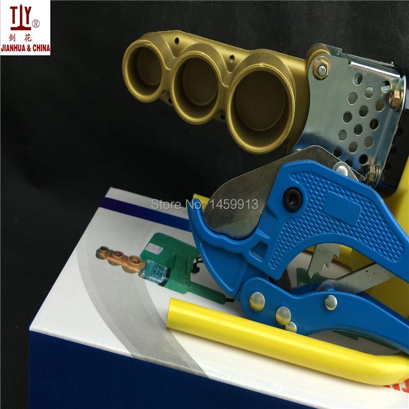 Купить Бесплатная доставка 20 - 32 мм AC 220 / 110 В 600 Вт пластиковых труб welderPPR сварки machineTube сварщик автономное отопление дешево