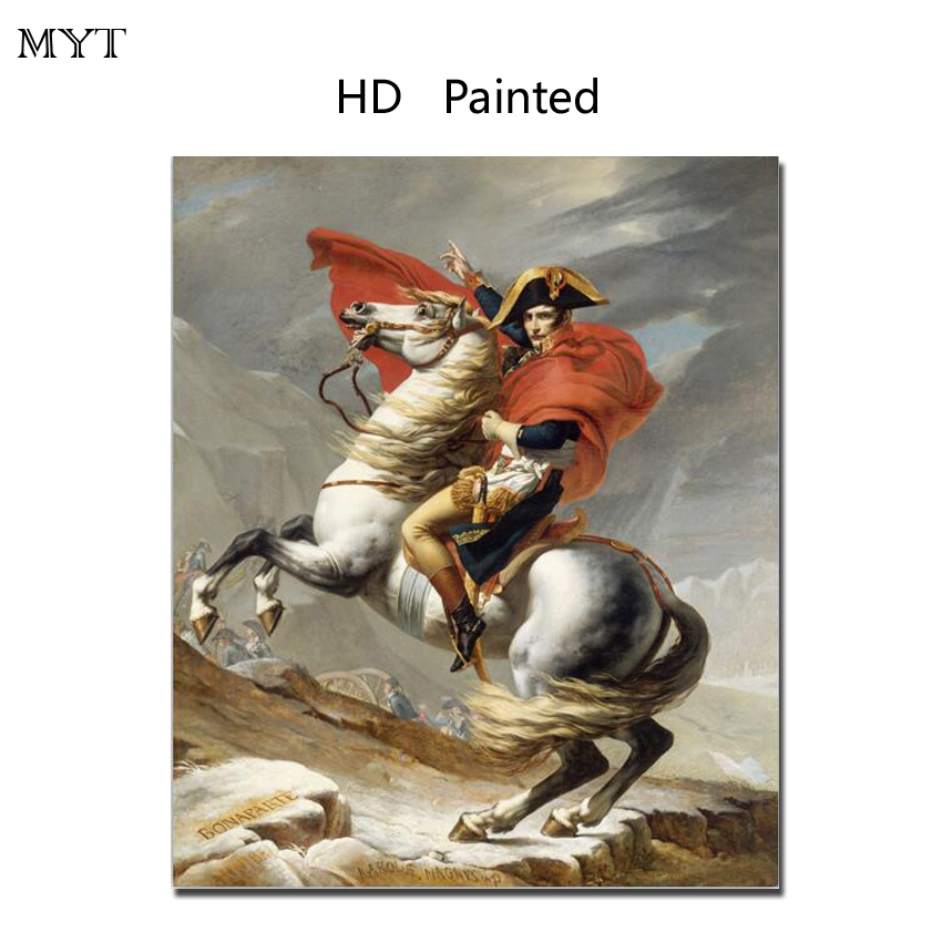Fashion hot sale HD Printed Painting Home Decor Art Picturere man riding horse for bed room living room No Framed or Diy Framed