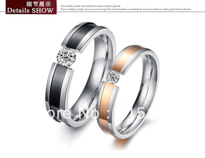 His And Hers Promise Ring Sets Wedding Fashion Couple