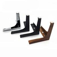 Fashion Kabinet Voeten Hoogte 10 Cm 18 Cm Meubels Benen Voor Tafel Sofa Bed Kast Antislip Ondersteuning benen Voeten Hardware-in Meubelpoten van Meubilair op