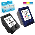 Ink Cartridges for HP 56 57 XL hp56 hp57 OfficeJet 5508 5510 5510v 5510xi 5515 6110 6110v 6110xi 6150 J5500 J5508 J5520 PSC 2510