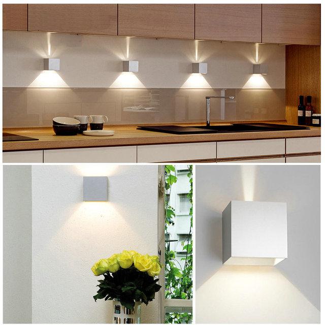 Outdoor Waterproof IP65 Wall Lamp Modern LED Wall Light Indoor Sconce Decorative lighting Porch Garden Lights Wall Lamps BL700