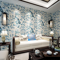 Wallpapers Youman For Bedroom Warm Romantic 3D Modern Chinese Style Peacock Pattern Living Room Sofa Bedroom Bedside Wallpaper