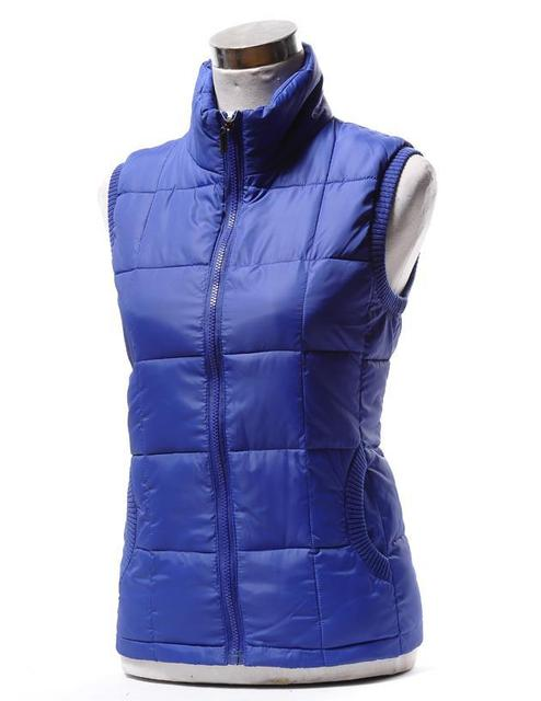 Hot New Arrival Winter Sleeveless Women's Vest Lady Fashion Down-Padded Casual WaistCoat Plus Large Size XL-XXXXL Factory sales
