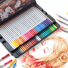 Deli Colored Pencil 24/36/48/72 Artist Colour Set Watercolor Marker Painting Pen Professional Drawing Color Pencils for Drawing deli 24 36 48 72 colors pencil water color pencils painting pencil colorful pencil watercolor pen student supplies paint pencil