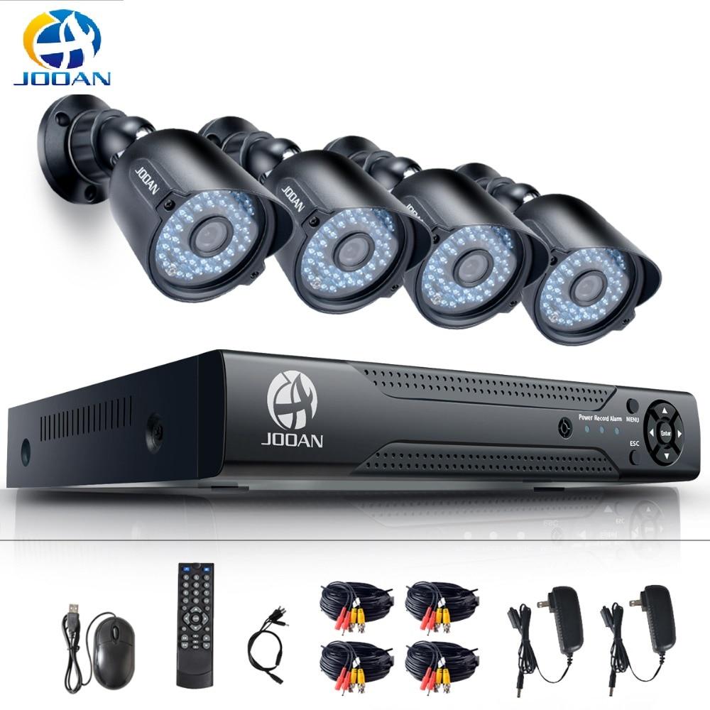 Video Surveillance CCTV System 4CH 720P Outdoor Cameras Weatherproof Security Camera 8CH DVR Day Night DIY