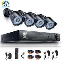 Video Surveillance CCTV System 4CH 720P Outdoor Cameras Weatherproof Security Camera 8CH DVR Day/Night DIY Kit  System AHD Cam