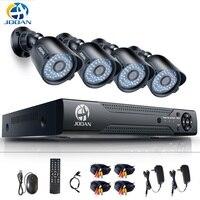 8CH CCTV Системы 4 шт 720 P Открытый погодозащищенная камера слежения 8CH 720 P DVR День/Ночь DIY Kit видеонаблюдения Системы