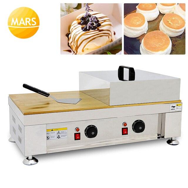 Machine à frire électrique 110V 220V gaufre antiadhésive gâteau moelleux japonais soufflé crêpes fabricant Souffler Muffin boulanger fer à repasser
