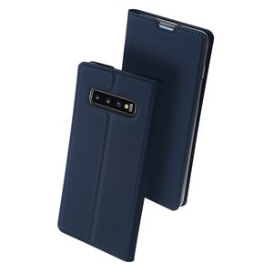 Image 2 - DUX DUCIS deri Flip Case Samsung Galaxy S10 Coque cüzdan kılıf kapak Samsung Galaxy S10 artı e r e r e r e r e r e r e r e r e r e r 10 s10e S10 5G Funda