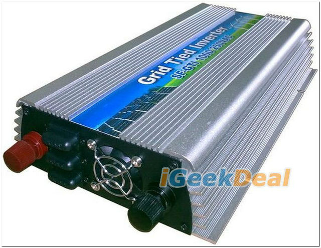 Solar Grid Tie Inverter GTI 500W 1pc 220Vac/110V convers 10.5-28Vdc High Frequency pure sine wave Power invertor micro inverter