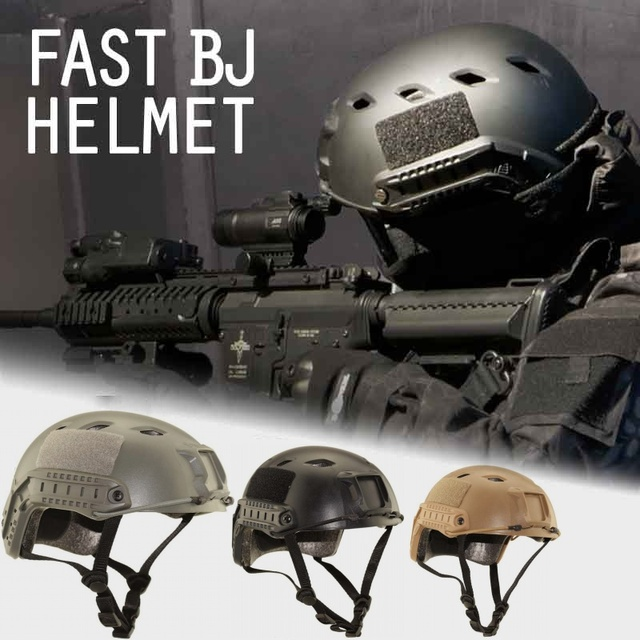 US $24 29 19% OFF|Aliexpress com : Buy Military Army Airsoft Tactical Fast  BJ Helmet Cheap Version Hunting Paintball Accessories WarGame Protective