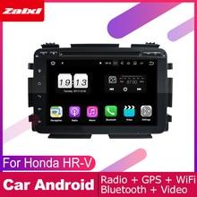 ZaiXi For Honda HR-V HRV 2014~2019 Car Android Multimedia System 2 DIN Auto DVD Player GPS Navi Navigation Radio Audio WiFi цена