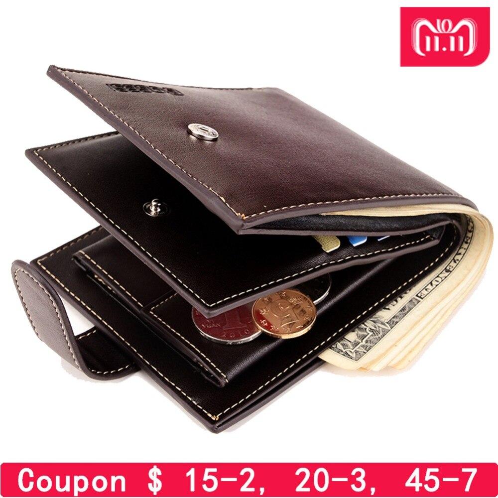 Con monedero de bolsillo de monedas de gran venta nuevo estilo de moda Cartera de calidad para hombres de diseño billeteras de hombre