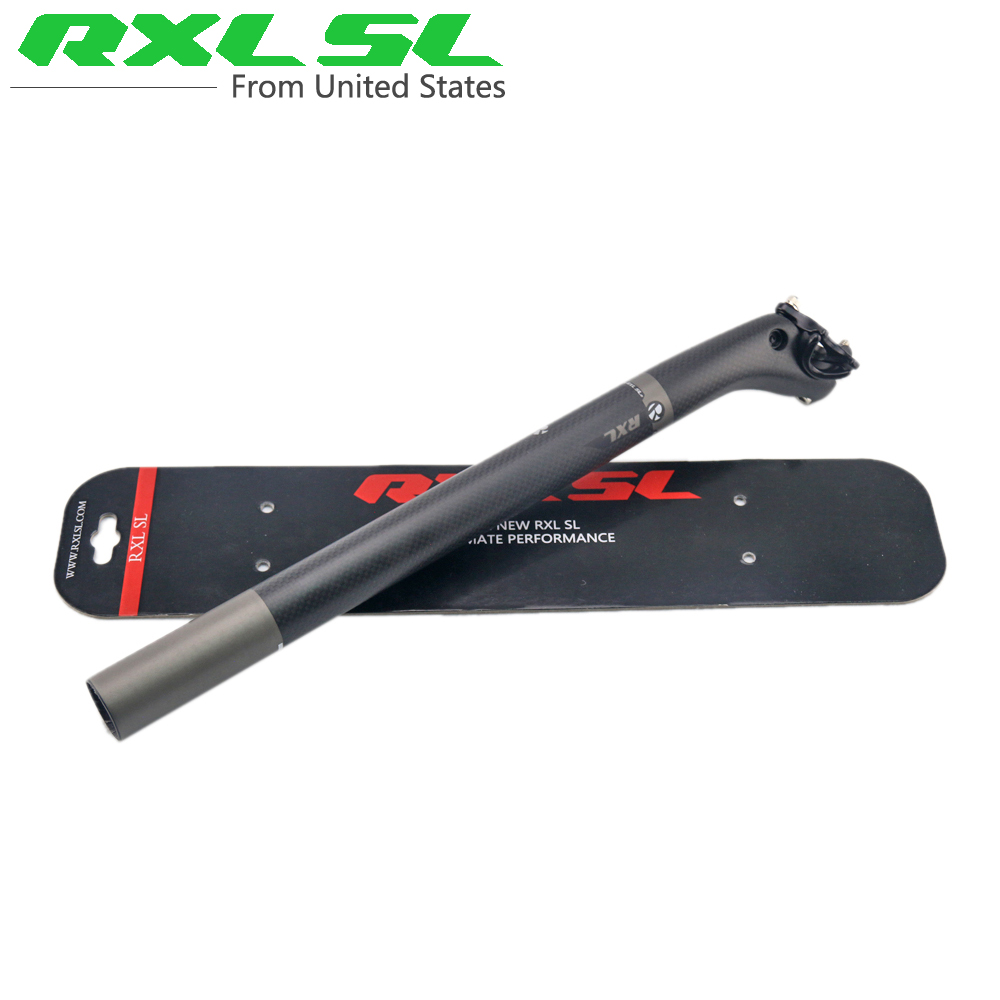 RXL SL Bicycle Seat Posts Road/MTB Bike Carbon Seatpost Offset 3K/UD Matte 27.2/30.8/31.6 Bike Accessories Carbon Seat Post