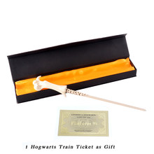 Christmas Gift Lord Voldemort Magic Wand with Ribbon Gift Box Packing(China)