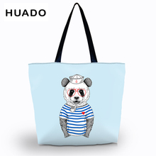 women Shopping Bag female Foldable Grocery Large reusable Packing storage Beach Tote Shoulder