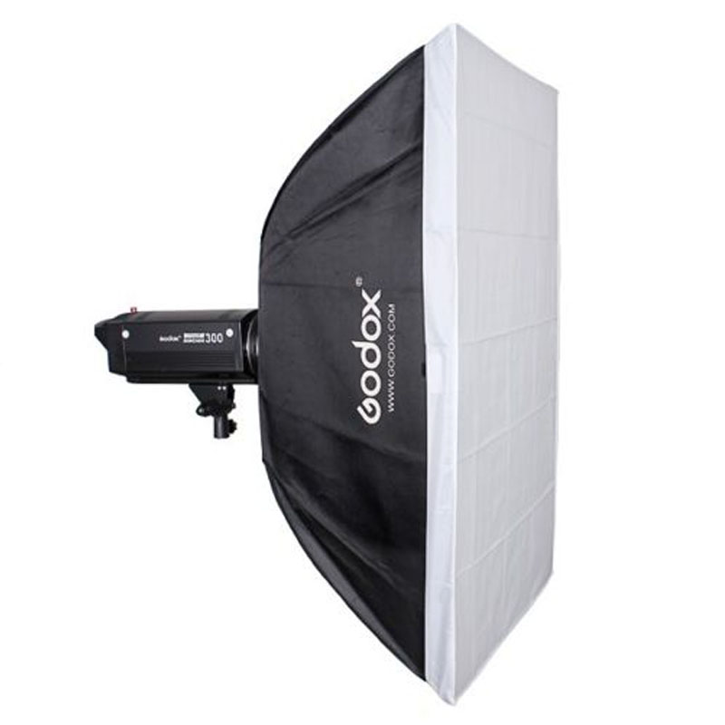 Godox 70cm x 100cm Speedlite Studio Strobe Flash Photo Reflective Bowens Mount Softbox Diffuser high quality foldable 70cm photo studio beauty dish speedlite octabox softbox inner sliver or diffuser