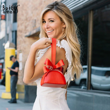 купить BRIGGS Fashion Day Clutches Female Hand Bags For Women PU Leather Solid Color Luxury Handbags Women Bags Designer Party Bag недорого
