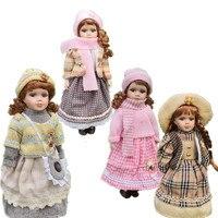 2018 Notizie 40 CM Stile Europeo Victoria Stile Russia Ceramica Classica bambola Nobile Bambola di Porcellana di Alta Qualità Giocattolo Regalo Per La Ragazza 1