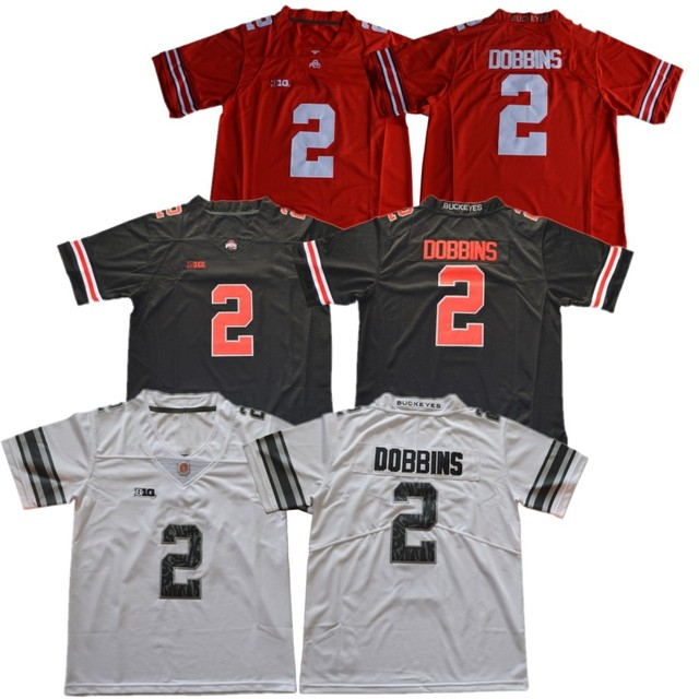 ohio state stitched football jersey