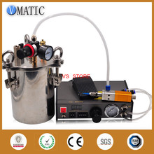 Automatic dispenser-component dispensing suction valve dispensing quantitative glue dispensing equipment with pressure tank 1L цена в Москве и Питере