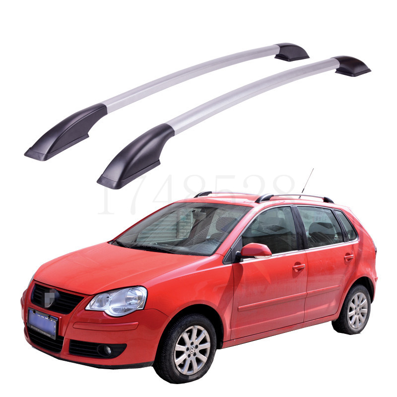 Accessories Refitting the roof rack of aluminum alloy luggage rack for Volkswagen POLO Auto parts 1.3M auxmart car roof rack cross bar for honda odyssey 2011 2017 top roof boxes 44 auto load cargo luggage carrier bike rack 132lbs
