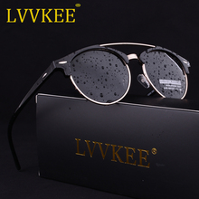 New Fashion men or Lady retro sunglasses polarized women Driver glasses Metal Frame green pink blue gray brown d Summer