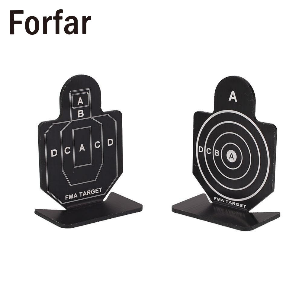 Outdoor Metal Military Black Shooting Target for Hunting Shooting Target Practice Accessory Shooting Target