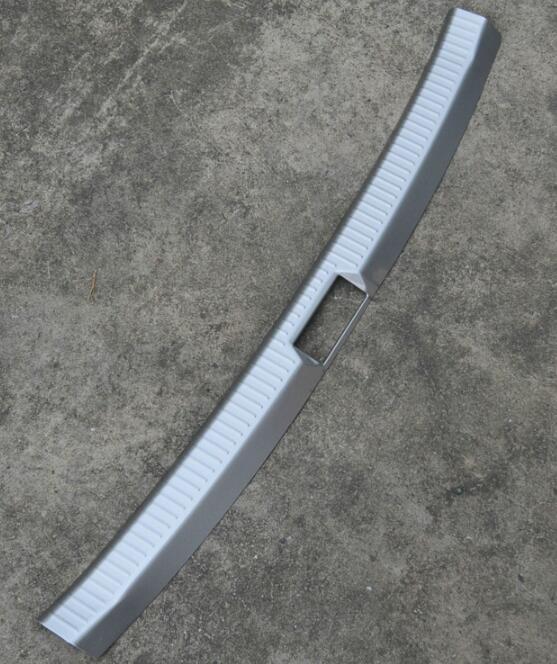 New Arrival Interior Exterior Rear Bumper Protector Tail Tailgate Trunk Guard Sill Plate Scuff Trim Cover For Volkswagen Golf 7 MK7 2014