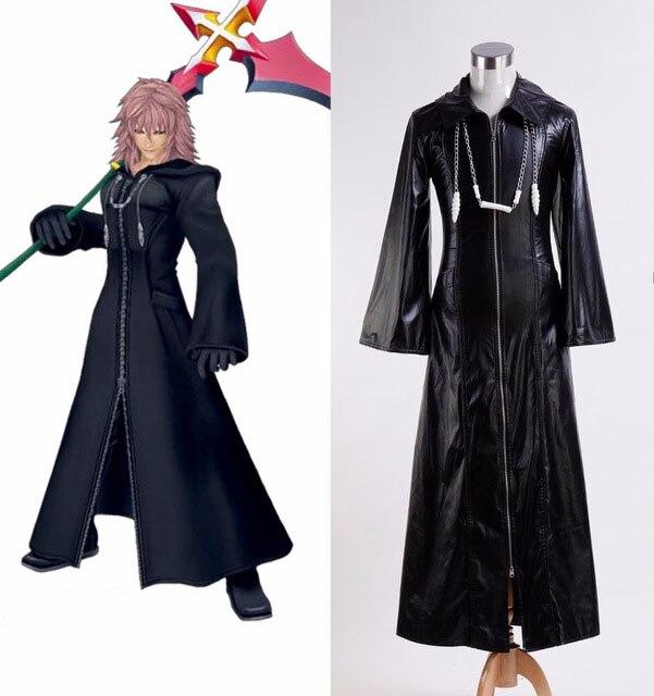 216 Kingdom Hearts 2 Organization XIII Saix Axel Roxas Cosplay Costume Free Shipping рубашка fore axel