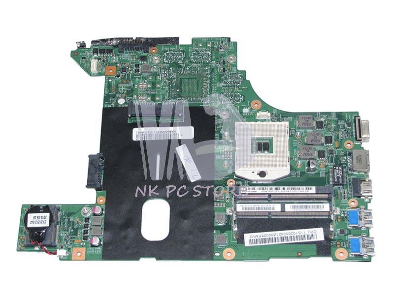 MAIN BOARD For Lenovo B490 Laptop Motherboard 48.4TD01.01M 120500421 HM77 GMA HD4000 DDR3 laptop motherboard for hp 2000 2b 685783 501 6050a2493101 mb a02 hm77 gma hd4000 ddr3