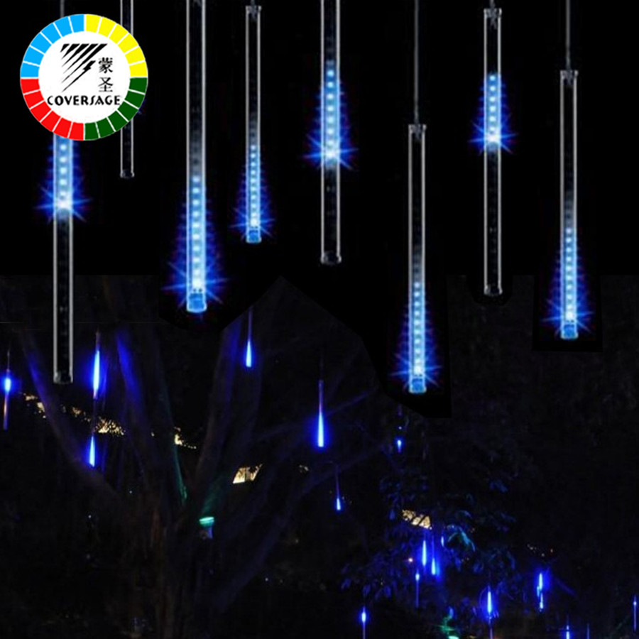 String Lights Big W : Coversage 50CM Meteor Shower Rain Tubes 3528 SMD 2Pcs Christmas Lights Waterproof LED Christmas ...